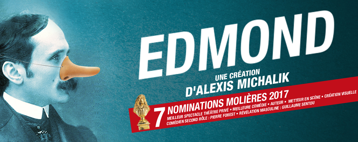Edmond un triomphe au théâtre avec 5 Molières - Eriq Ebouaney