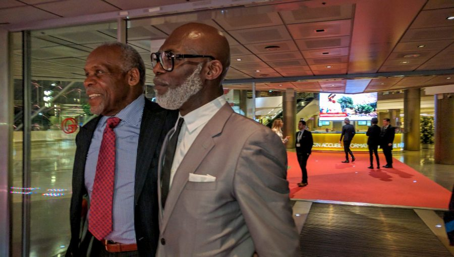 Danny Glover and Eriq Ebouaney au Festival Monte-Carlo FTV16( photo lobo-graphik)