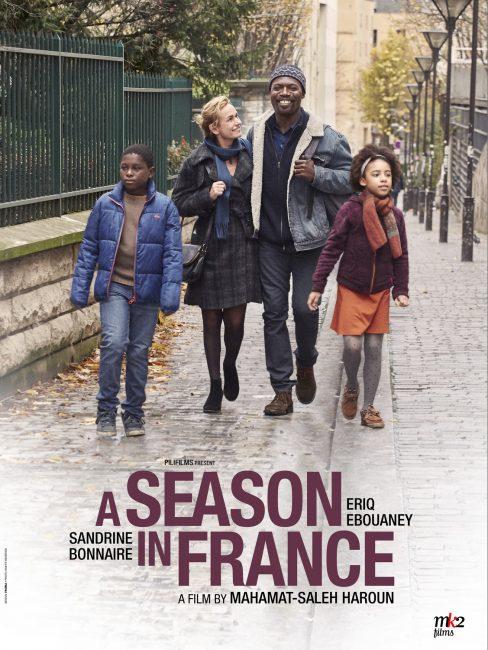 Une saison en France Sandrine Bonnaire et Eriq Ebouaney