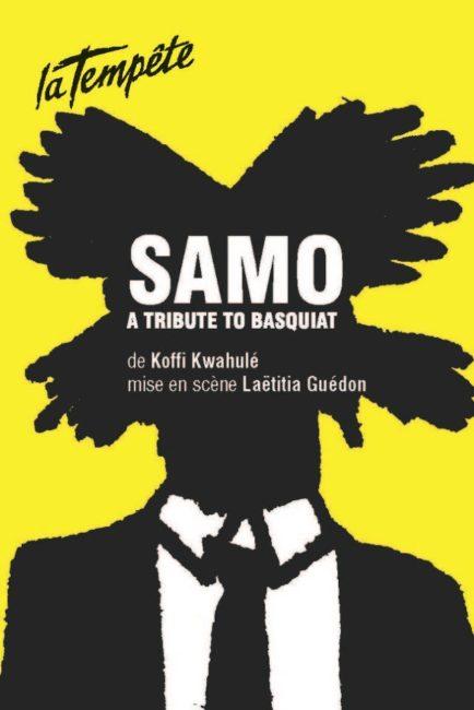 SAMO, A TRIBUTE TO BASQUIAT actuellement au théâtre.