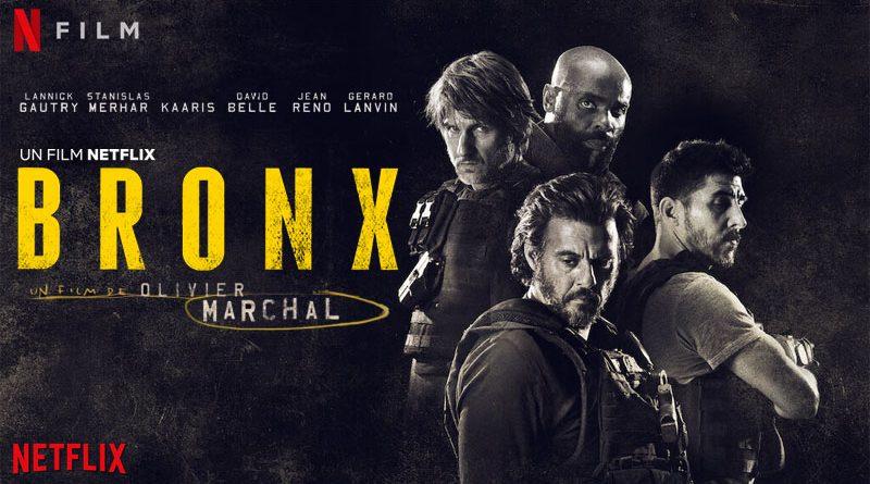 Eriq Ebouaney dans BRONXun film écrit et réalisé par Olivier Marchal.
